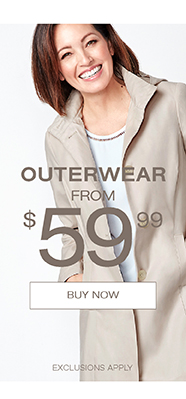 Outerwear from $59.99