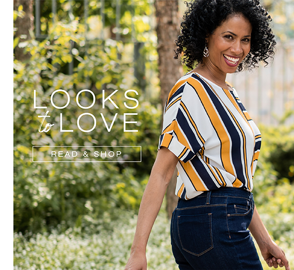 Looks to love. Read and shop.
