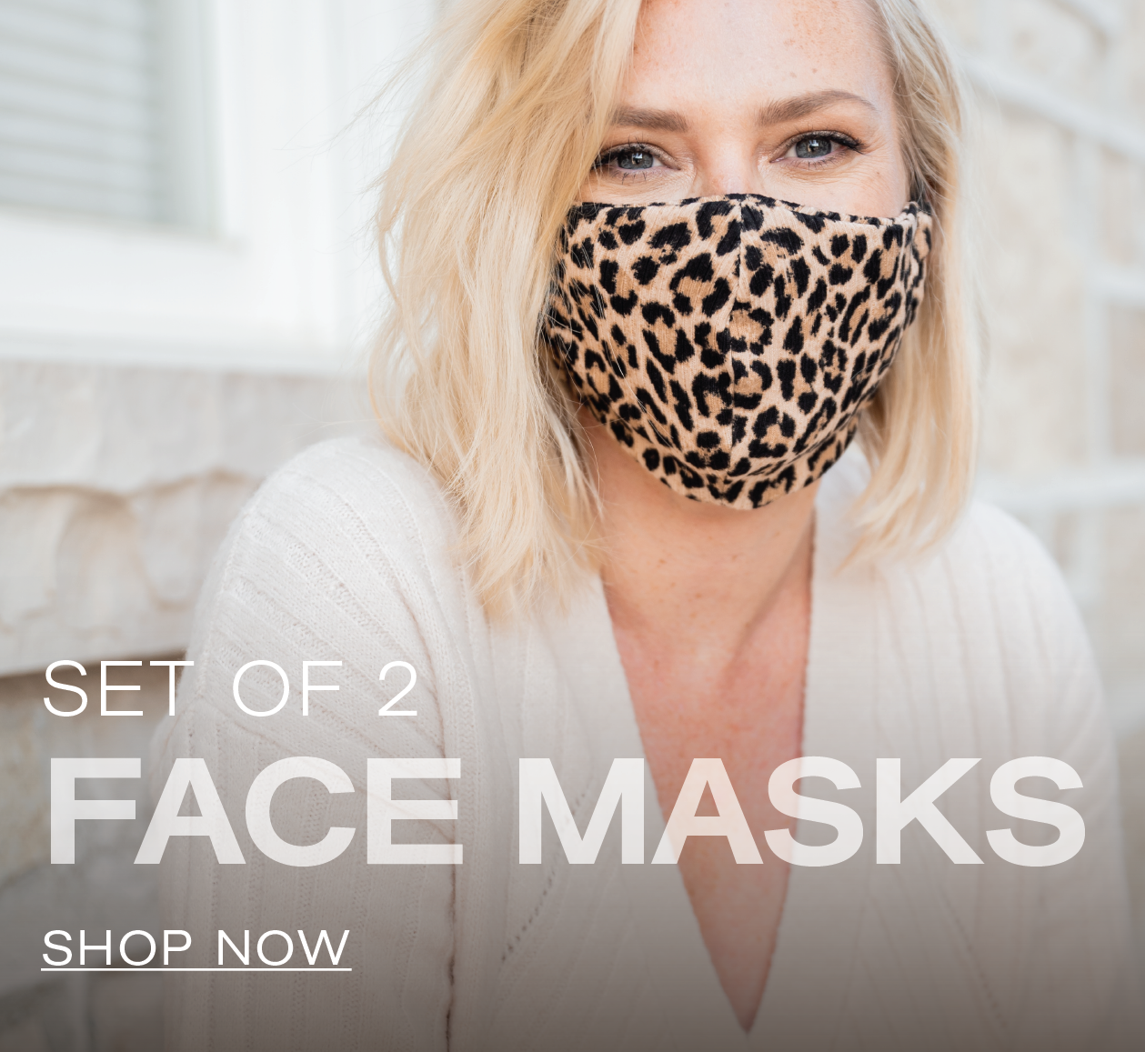 Set of 2 Face Masks