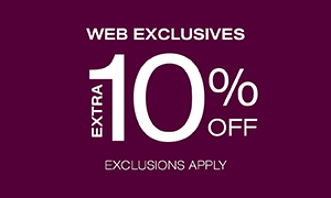 Extra 10% Off Web Exclusive
