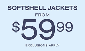 From $59.99 Softshell Jackets