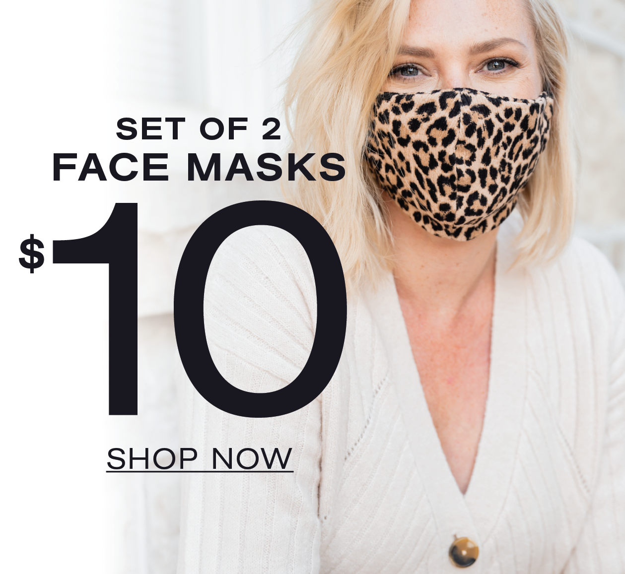 Set of 2 Fae Masks $10 Shop Now